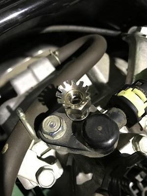 HONDA リード125 (JF45) 除電ボルトナットセット