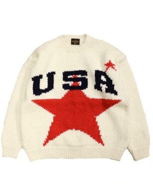 SUNNY SPORTS/USA CREW SWEATER   SN18F01000
