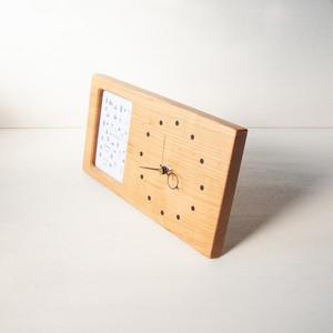 木の時計&フォトフレーム No29 | 山桜