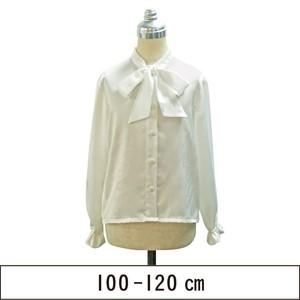 リボン襟ブラウス 100-120