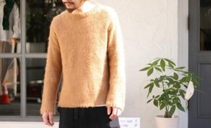 【50%OFF】〈7×7〉 MOHAIR CREW-NECK KNIT