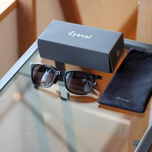 <Eyevol> NOYLE 54 BK-DG / 日本製サングラス