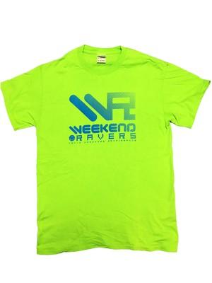 [一点物]WEEKEND RAVERS V.6 T-SHIRT M SIZE(Lime / Skyblue)