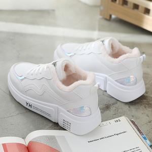 【shoes】裏起毛スパンコール飾りスニーカー 24201330