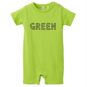 [ロンパース] green