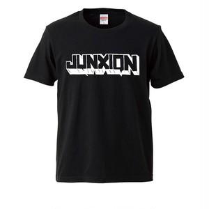 【再入荷】JUNXION SHORT SLEEVE TEE BLACK
