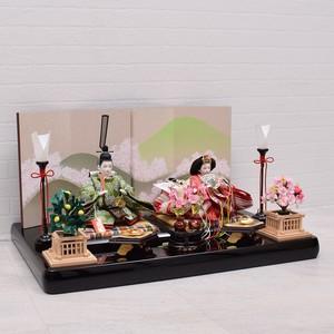 雛人形 親王飾り<里山桜>