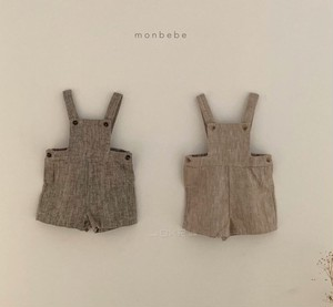 monbebe ヘリボーンサロペット パンツ