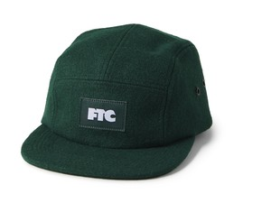 FTC (エフティーシー) / MELTON WOOL CAMP CAP -GREEN-