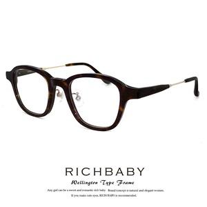 RICHBABY リッチベイビー メガネ レディース rb5018-2 ウェリン トン型 rich bab y