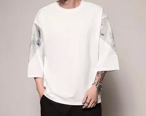 【大人気】7部丈IKNOWデザインTシャツ 2カラー