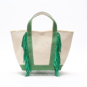 SideFringeToteBag[M]LightGreen