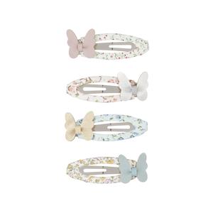 バタフライクリップ Butterfly garden  4個セット