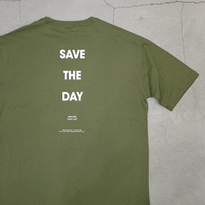 【NEW STYLE】SILENT POETS / OVERSIZED POCKET T-SHIRTS(SAVE THE DAY)