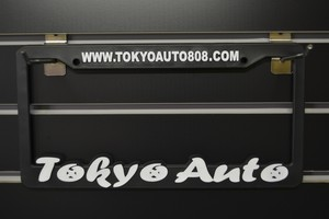 Tokyo Auto Licence plate frames