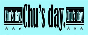 Chu's day. マフラータオル (各5色)