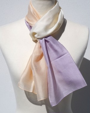 郡内織物「富士桜工房」とにかく軽い!コンパクトストール「とにかる」二つ色