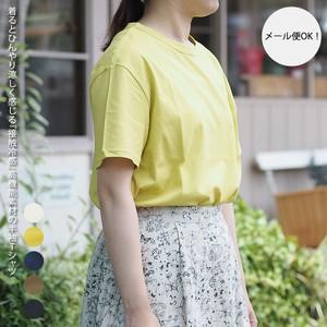 接触冷感 コットン 半袖Tシャツ 59050002 (日本製/綿/シャツ)【送料無料】