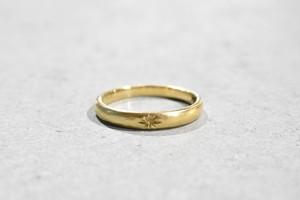 Motif Ring / K18 YG
