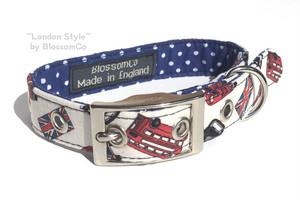 犬の首輪【ロンドンスタイル】BlossomCo 90269