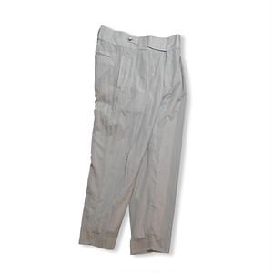 Cropped slacks  [ Pale Gray ]
