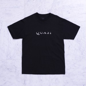QUASI / WORD MARK TEE / BLK / M