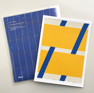 アラン・ビルテレースト Alain Biltereyst Silk Screen Print (Yellow) + Booklet