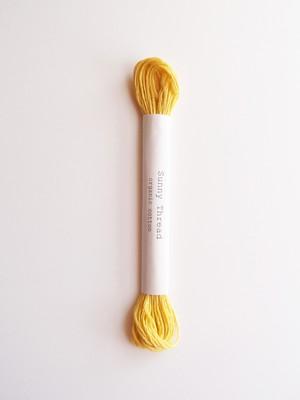 Sunny thread #19  オーガニックコットン 刺繍糸