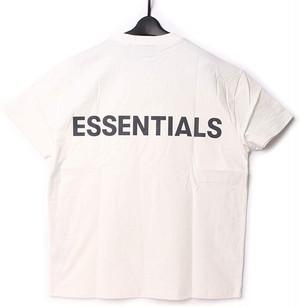 Fear Of God Essentials フィアオブゴッド エッセンシャルズ バックロゴ Tシャツ XS[全国送料無料] r017048