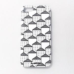 LACICO 家家柄iPhoneケース (ホワイト)