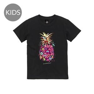 パイナポー 半袖 黒 KIDS