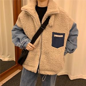 デニムもこもこジャケット