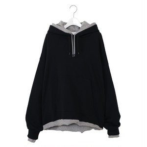 Sandwich Hoodie -BLACK×GRAY- / NEON SIGN