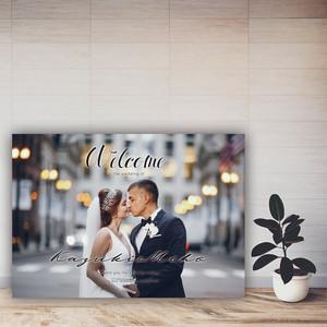 WB08【選べるサイズ・納品形式】結婚式ウェルカムボード