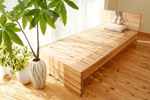 赤板タイプ【200年杉】TAKAYUKA(高床)(「眠れる森のSUGI」ベッド)
