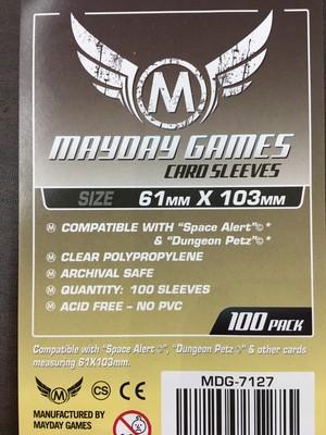 【スリーブ】スペースアラートサイズ 61×103 / mayday games