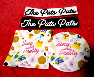 THE PATS PATS「SING AND PRETTY」バッジ+シールSET①
