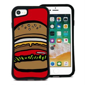 ポップフード ハンバーガー セット WAYLLY(ウェイリー) iPhone 11 pro max 8 7 XR XS X 6s 6 Plus XsMax対応!_MK_