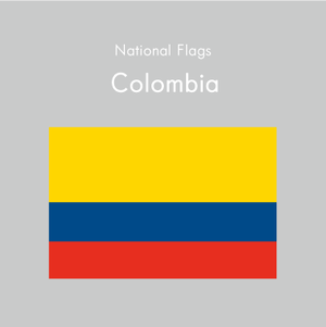 国旗ステッカー コロンビア