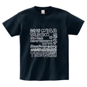 MICAdemy会員対象 15周年Tシャツ(ネイビー)  S,M,L,XL,XXL