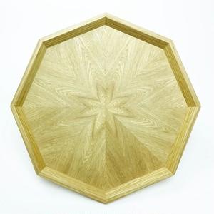 ナラ 八角形のトレー OBNA-0156