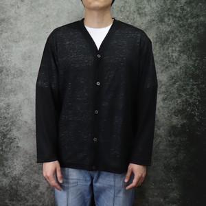 【Audience】 Premiere Linen V neck Cardigan (3色展開) オーディエンス プレミアリネン 天竺 Vネック カーディガン