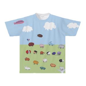 オリジナルTシャツ:KASUMI作「よ〜い、ドン!」