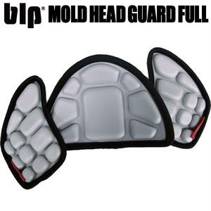 blp ヘッドガードフルセット GRY ニットキャップがヘルメットになる!