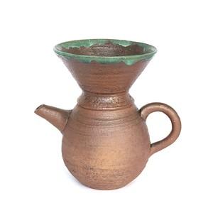 穴窯 薪窯焼締 コーヒードリッパー