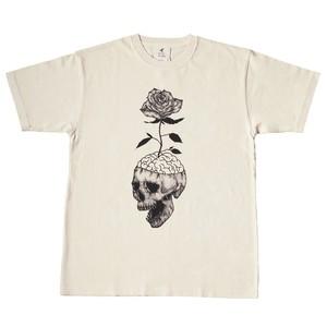 ピグメントダイTシャツ 「Bloom」