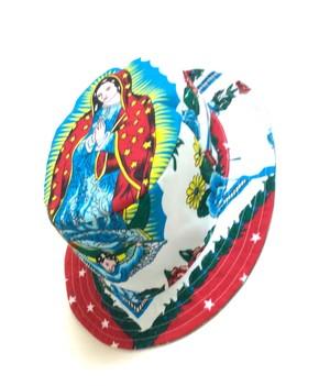 tokyo gimmicks maria Reversible BUCKET HATS lining bandana red
