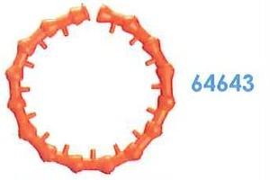 """64643 汎用クーラントホース1/2"""" 1/2"""" サークルフローノズルキット"""