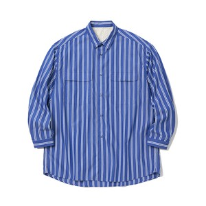 STRIPE LONG SLEEVE SHIRT - DOUBLE STRIPE