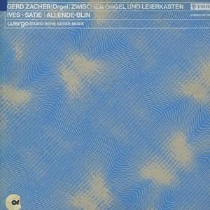 GERD ZACHER - 現代オルガン曲集